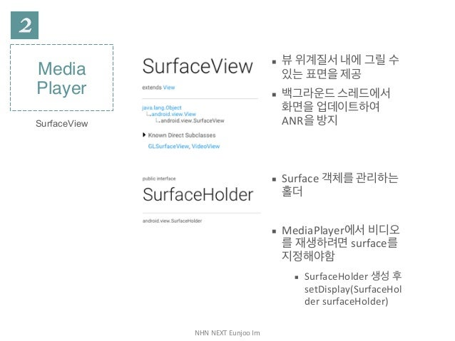 안드로이드 MediaPlayer & VideoView