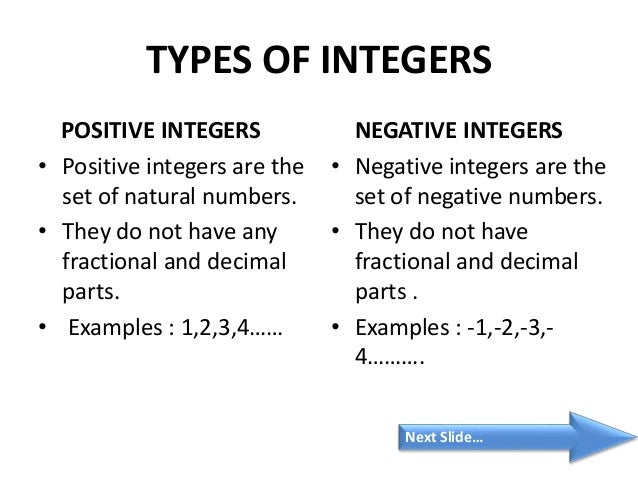 integers negative and non negative numbers and Given a positive integer n, find the number of non-negative integers less than or  equal to n, whose binary representations do not contain consecutive ones.