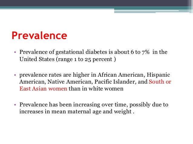 diabetes of pregnancy among first nations women Gestational diabetes most often starts halfway through the pregnancy all pregnant women should receive an oral glucose tolerance test (glucose challenge test) between the 24th and 28th week of pregnancy to look for the condition women who have risk factors for gestational diabetes may have this test earlier in the pregnancy.