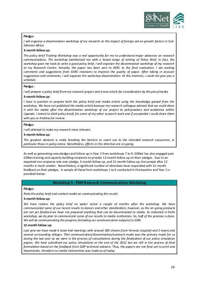 Aerc research paper