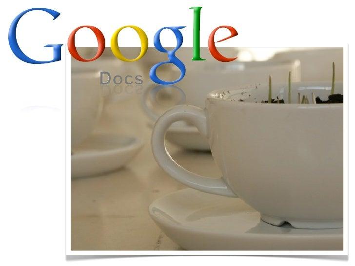 être ou ne pas être sur   google documents ?