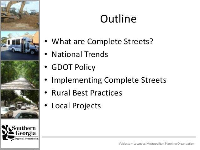 Complete Streets Best Practices Slide 2