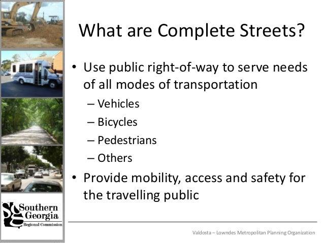 Complete Streets Best Practices Slide 3