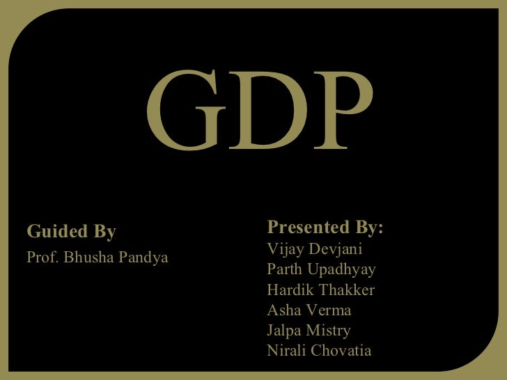 GDPGuided By             Presented By:                      Vijay DevjaniProf. Bhusha Pandya                      Parth Up...