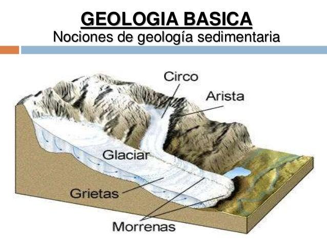 GEOLOGIA BASICA Nociones de geología sedimentaria