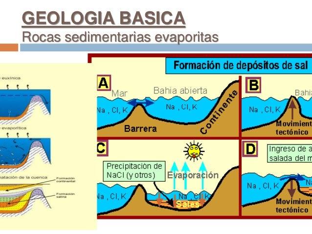 GEOLOGIA BASICA Rocas sedimentarias evaporitas