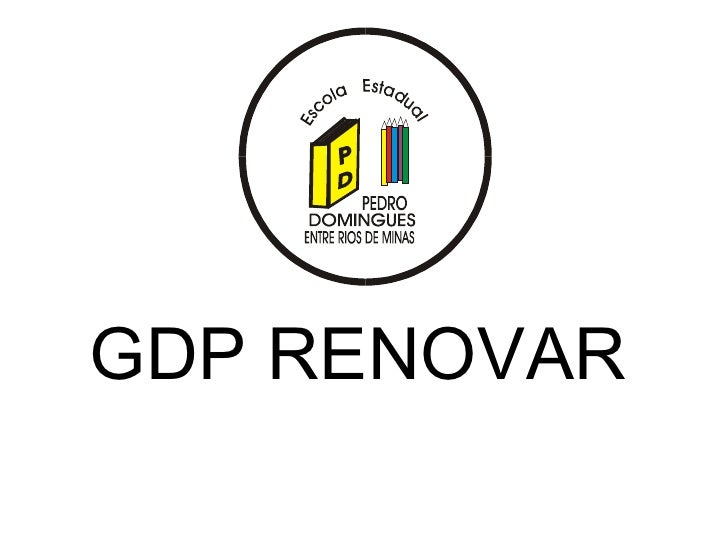 GDP RENOVAR