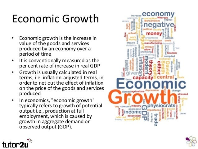 can development be measured by economic Economic growth and development in india  economic growth is usually measured in terms of an increase in real gnp or gdp over time or an increase in income per.