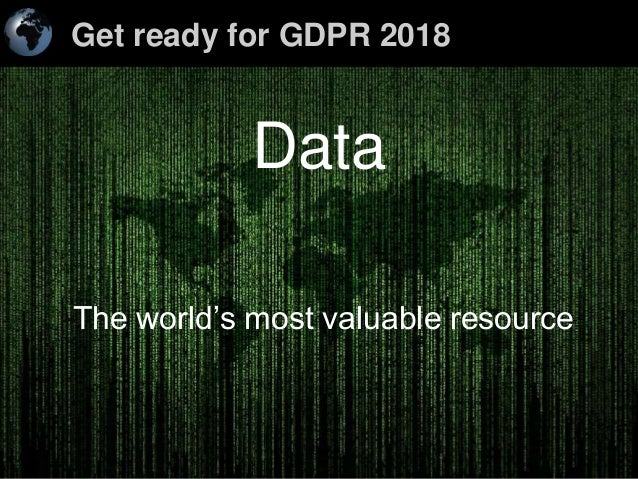 Get ready for GDPR 2018 1Enterprise Online Marketing Solutions < SEO > < PPC > < Social Media > < On-Line Marketing Soluti...