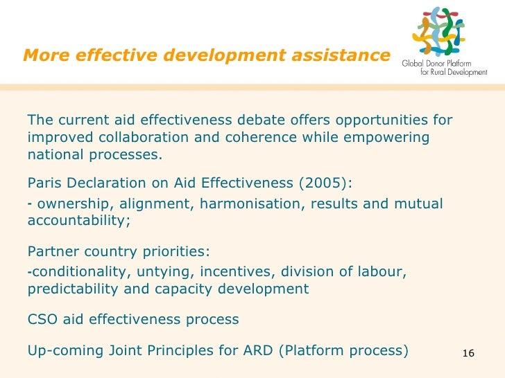 paris declaration on aid effectiveness pdf