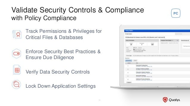 Validate Security Controls & Compliance with Policy Compliance Track Permissions & Privileges for Critical Files & Databas...