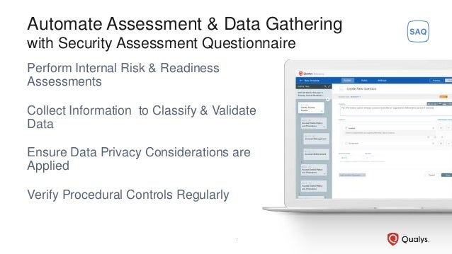 Perform Internal Risk & Readiness Assessments Collect Information to Classify & Validate Data Ensure Data Privacy Consider...