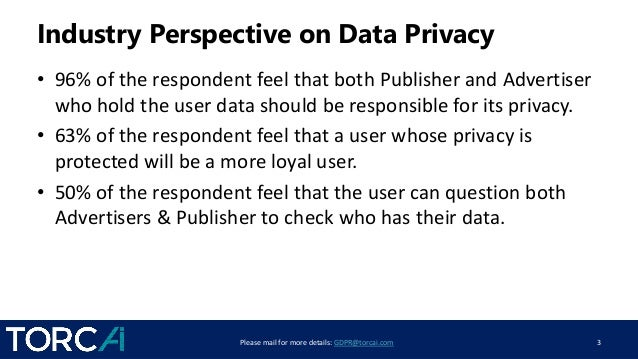 Understanding GDPR Compliance - What it Means for Publishers and Advertisers Slide 3