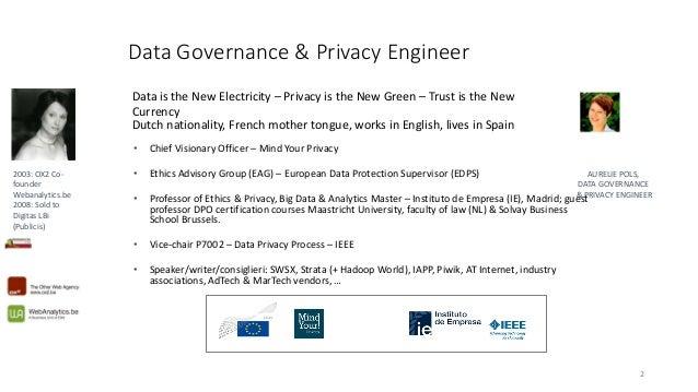 State of EU legislation: GDPR & ePrivacy for Superweek Slide 2