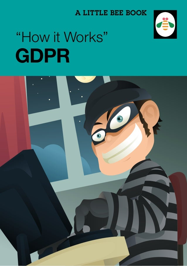 "A LITTLE BEE BOOK ""How it Works"" GDPR"