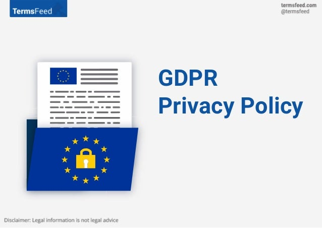 Privacy Policy >> Gdpr Privacy Policy