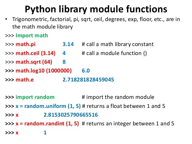 Delightful Python ...