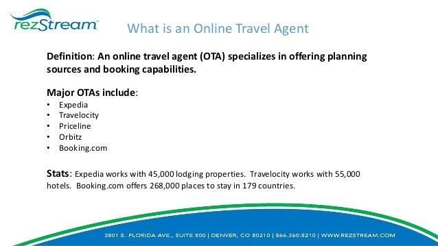 Definition Online Travel Agent | Joshymomo org