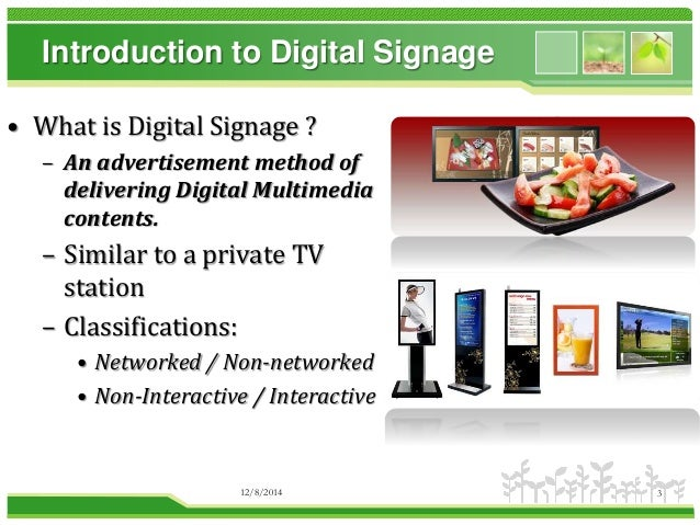 3 introduction to digital signage
