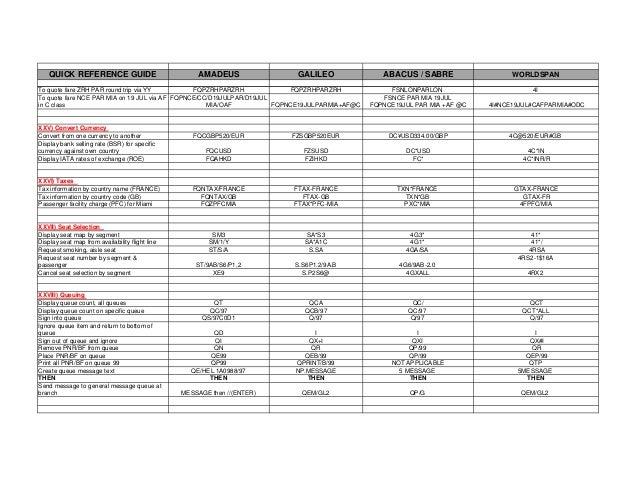 gds quick reference guide rh slideshare net galileo gds user guide galileo smartpoint user guide