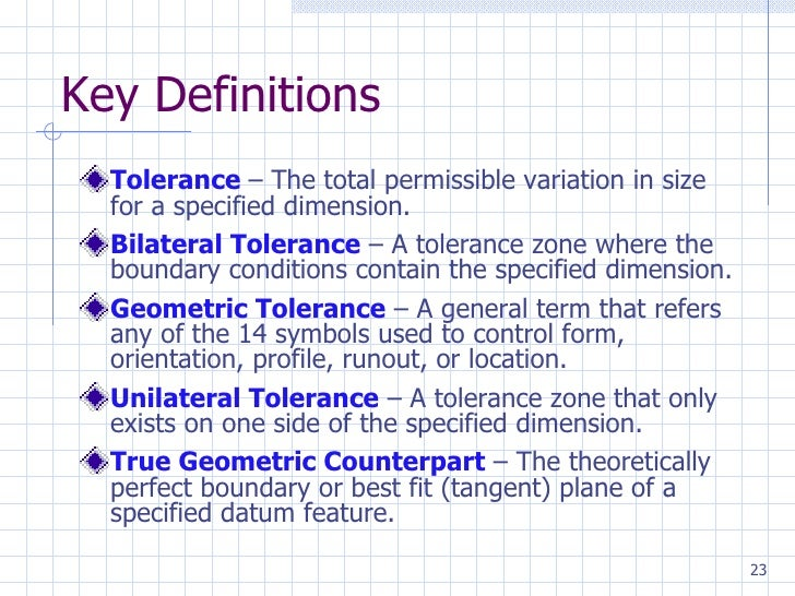 Gdt 22 23 key definitions tolerance malvernweather Choice Image
