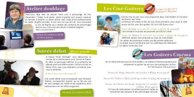 Atelier Cinéma d'animation Avis aux cinéastes en herbe ! Du 21 au 25 octobre, l'accueil de loisirs de La MCL propose aux e...