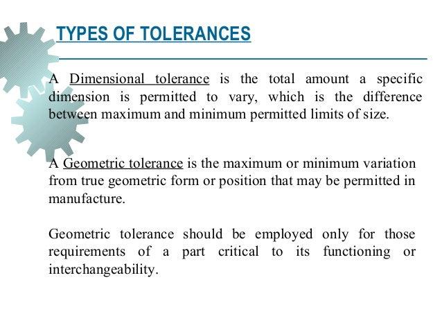 Geometric Dimension And Tolerance