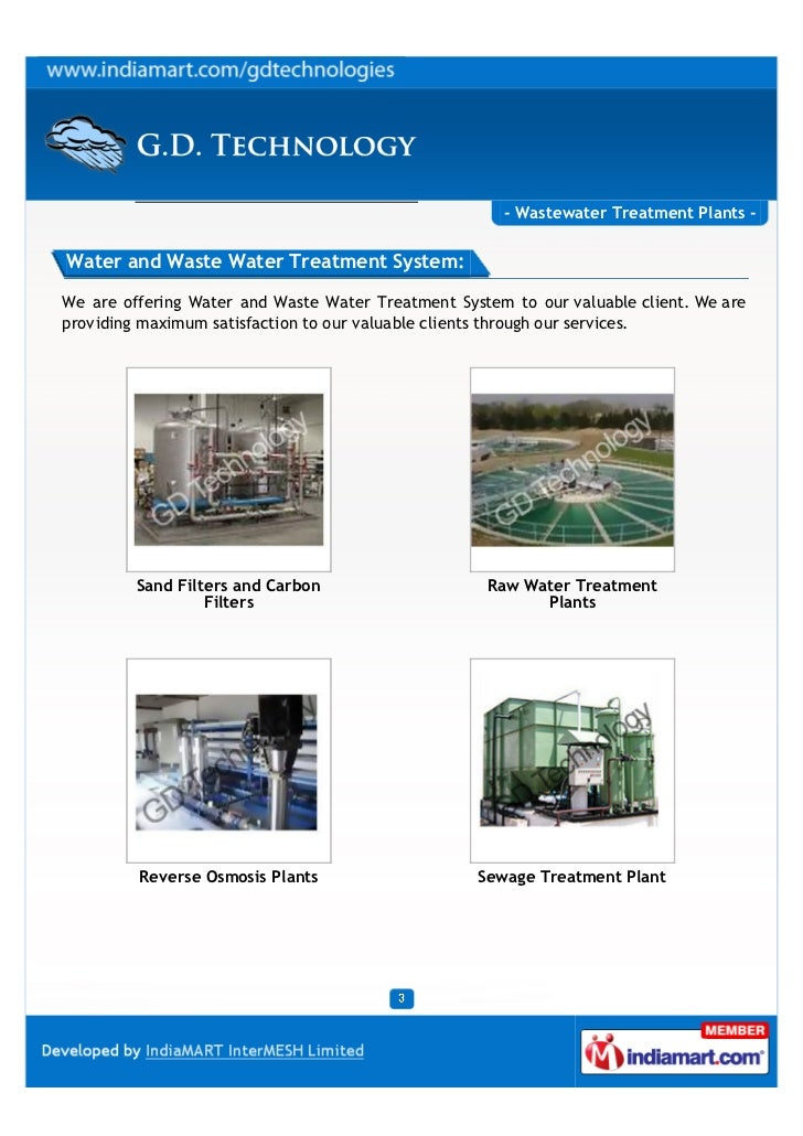 - Wastewater Treatment Plants -Water and Waste Water Treatment System:We are offering Water and Waste Water Treatment Syst...