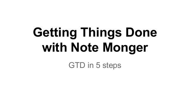 Gdt in 5 minutes, a life hack Slide 3