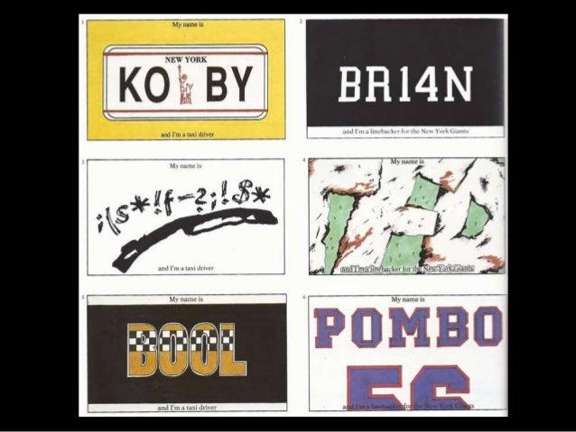Typographic Portraits ppt