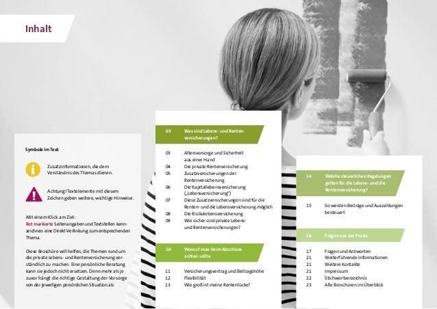 GDV - Die Lebens- und Rentenversicherung Slide 2