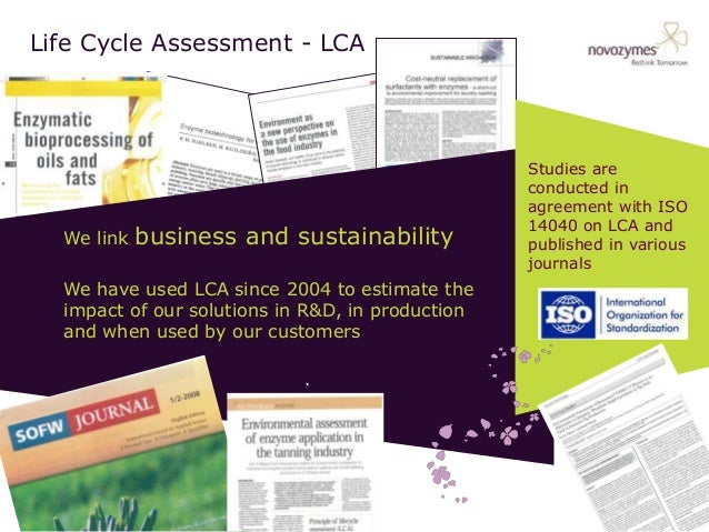 Tuesday 0915 Novozymes Lca And Innovation 2014