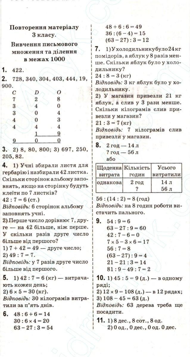 Клас 4 гдз математики богданович нова з