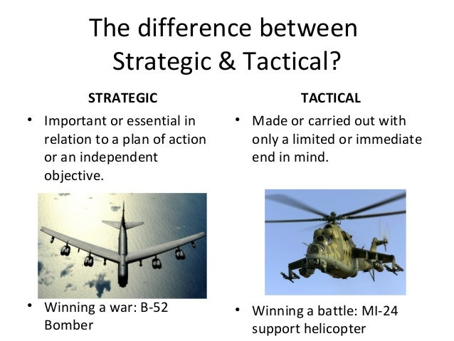 strategy business plan difference between type