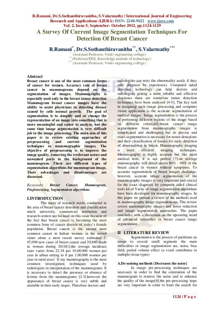 R.Ramani, Dr.S.Suthanthiravanitha, S.Valarmathy / International Journal of Engineering           Research and Applications...