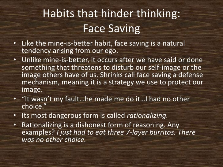 habits that hinder thinking Changing your habits for better health are you thinking about being more active have you been trying to cut back on less healthy foods.