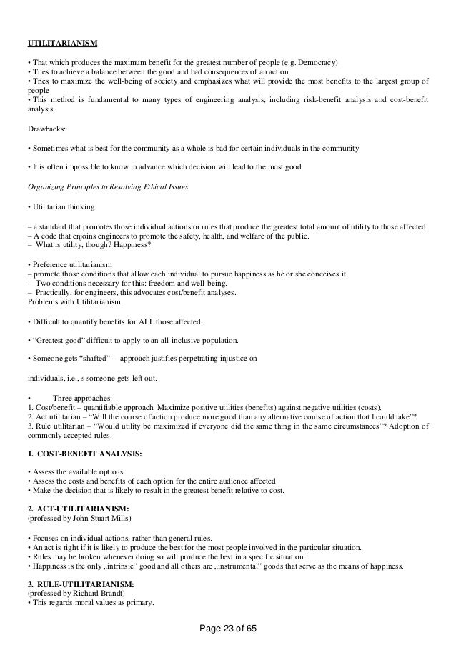 Ge6075 Professional Ethics 5 UNITS NOTES