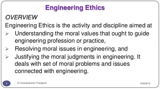 senses of engineering ethics Engineering codes of ethics: analysis and applications  a code of ethics must contain a sense of mission, some feeling for the  agreement among engineers on a.