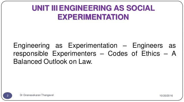 GE6075 PROFESSIONAL ETHICS IN ENGINEERING Unit 3