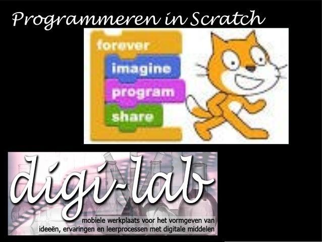 Programmeren in Scratch