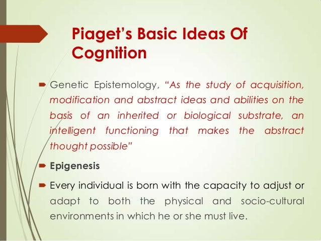 jean piaget's theorist research paper Essays - largest database of quality sample essays and research papers on jean piaget theory.