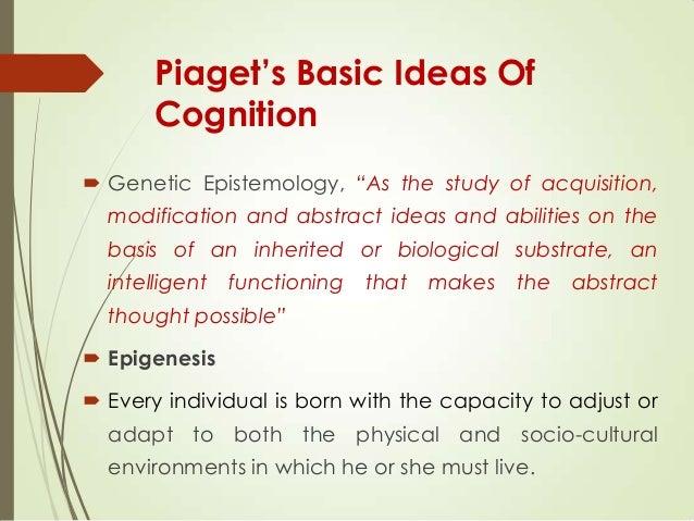 jean piaget genetic epistemology