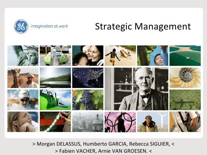Strategic Management > Morgan DELASSUS, Humberto GARCIA, Rebecca SIGUIER, < > Fabien VACHER, Arnie VAN GROESEN. <