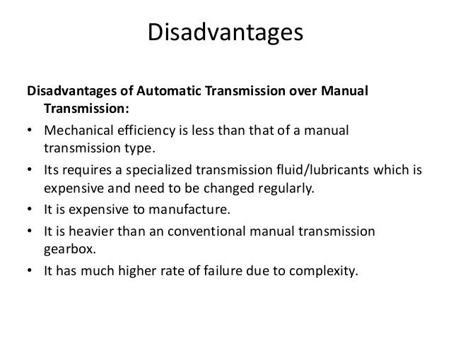 gearbox in automobile rh slideshare net benefits of manual transmission cars benefits of manual transmission over automatic