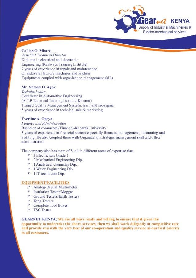 Gearnet New Company Profile