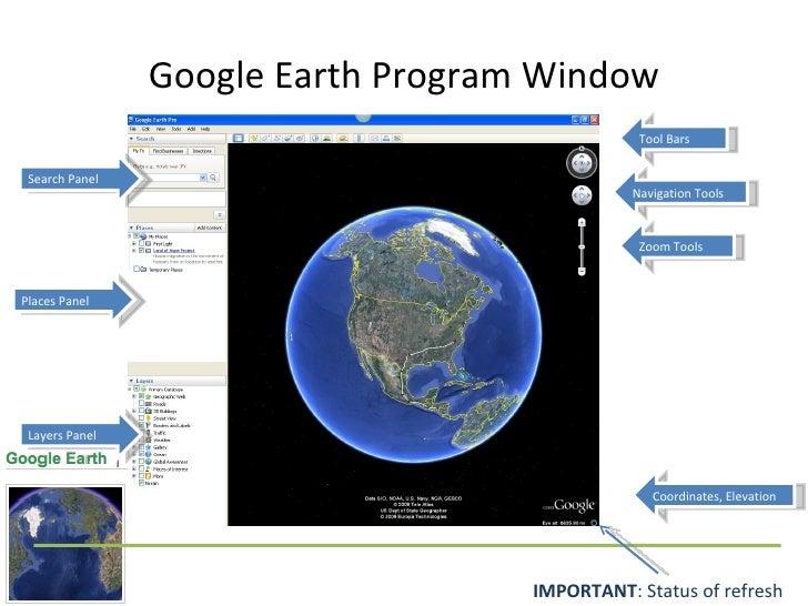 Google Earth Basics - Elevation tool google earth