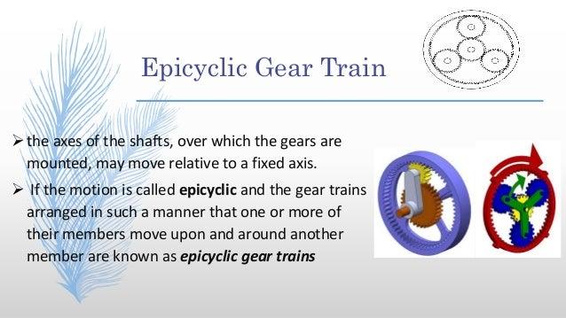 epicyclic gear train tabular method pdf