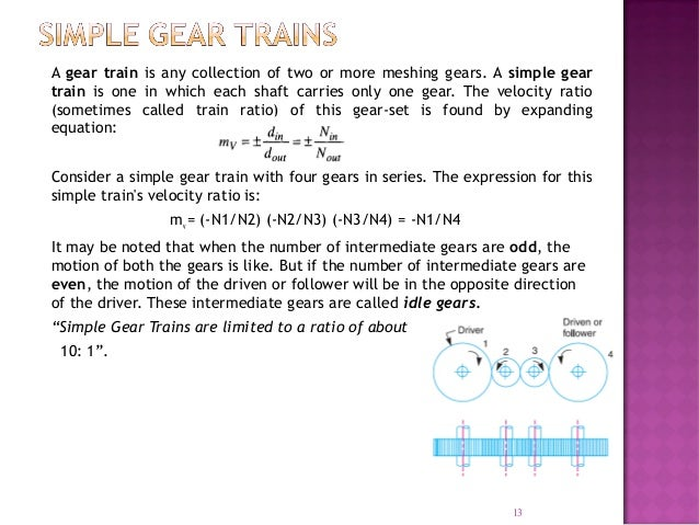 Gear trainslecture 10 13 a gear sciox Image collections