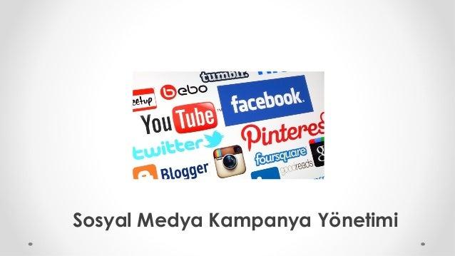 Sosyal Medya Kampanya Yönetimi