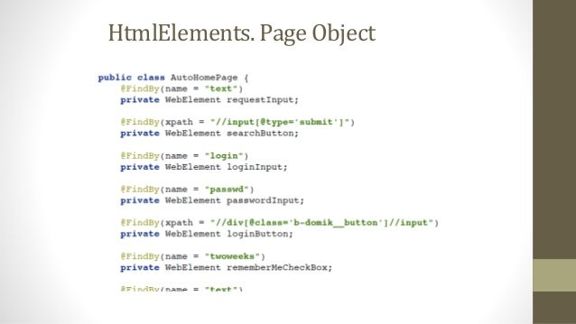 "JDI UI Test Automation Framework @JSite(domain=""https://epam.github.io/JDI/"") publicclassJDIExampleSiteextendsWebSite{ pub..."